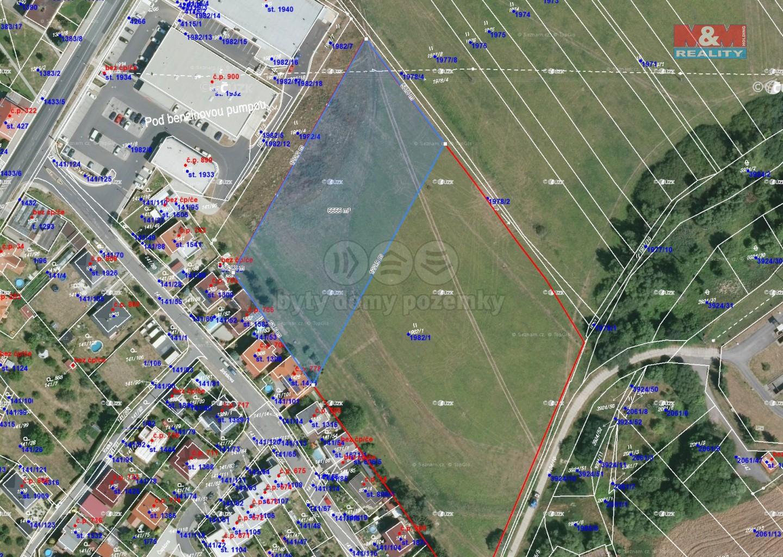 Prodej komerční pozemek, 6649 m², Stod
