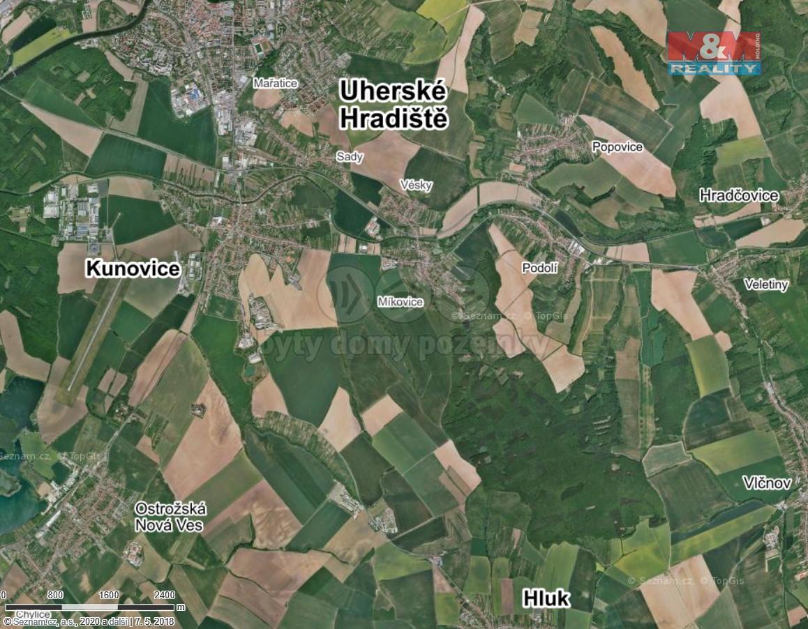 Prodej pole, 15742 m², Uherské Hradiště