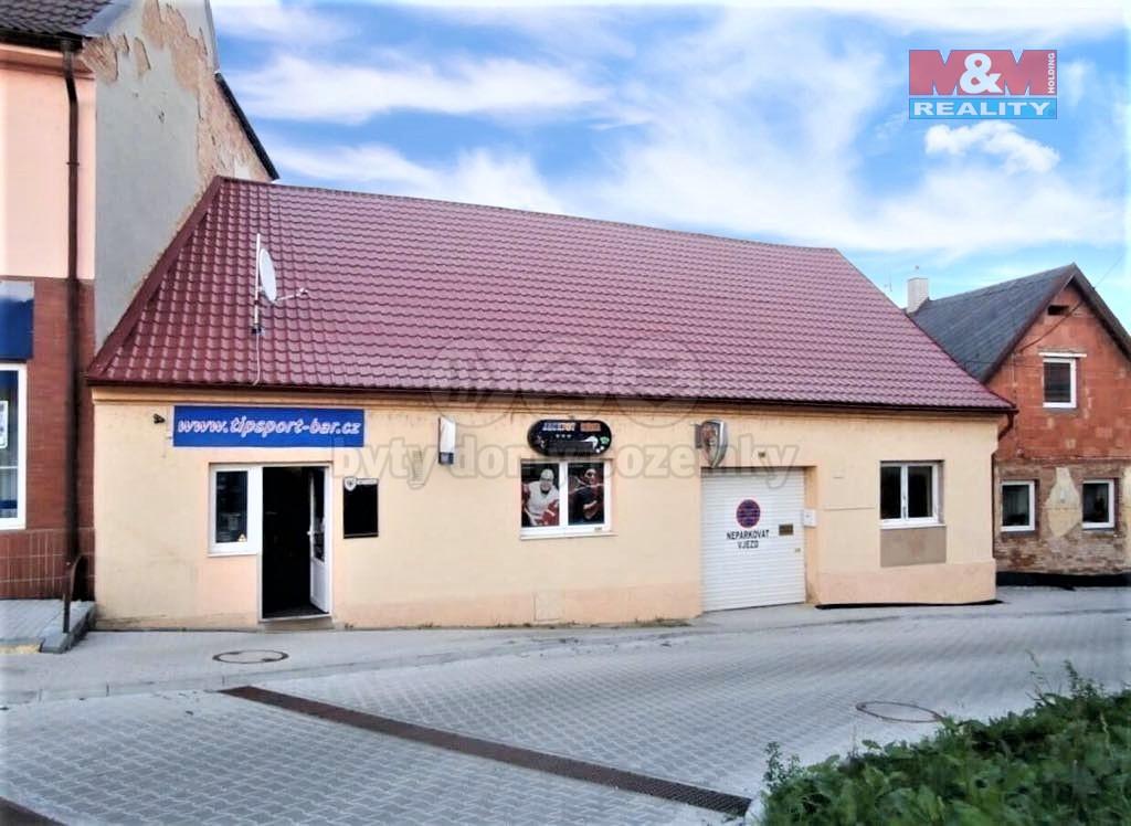 Prodej obchod a služby v Blovicích, ul. Masarykovo náměstí