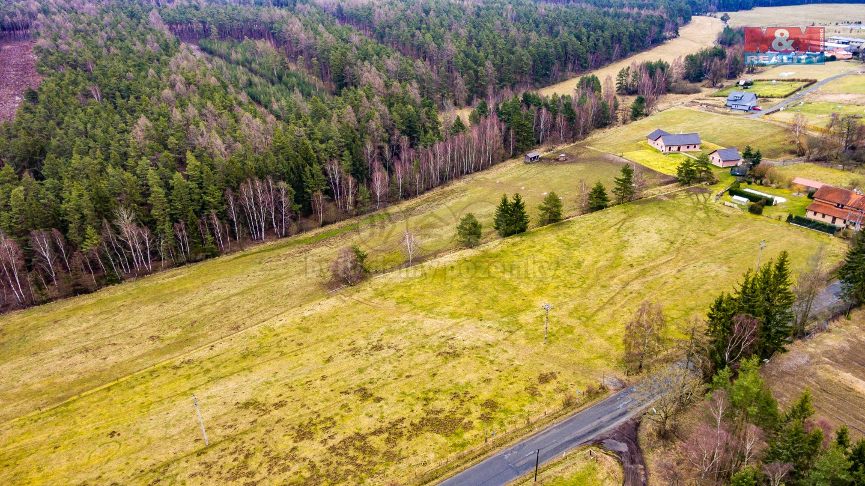 Prodej, pastviny, 42657 m2, Hrad Nečtiny, okr. Plzeň-sever