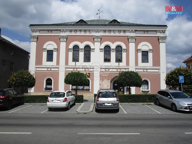 Pronájem hotelu, penzionu, 1276 m², Opočno, ul. Kupkovo nám.
