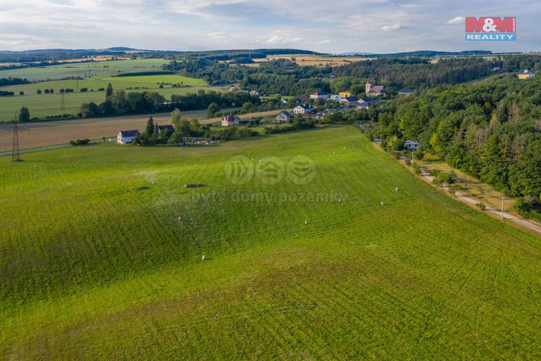Prodej pozemku k bydlení, 1300 m², Lanžov