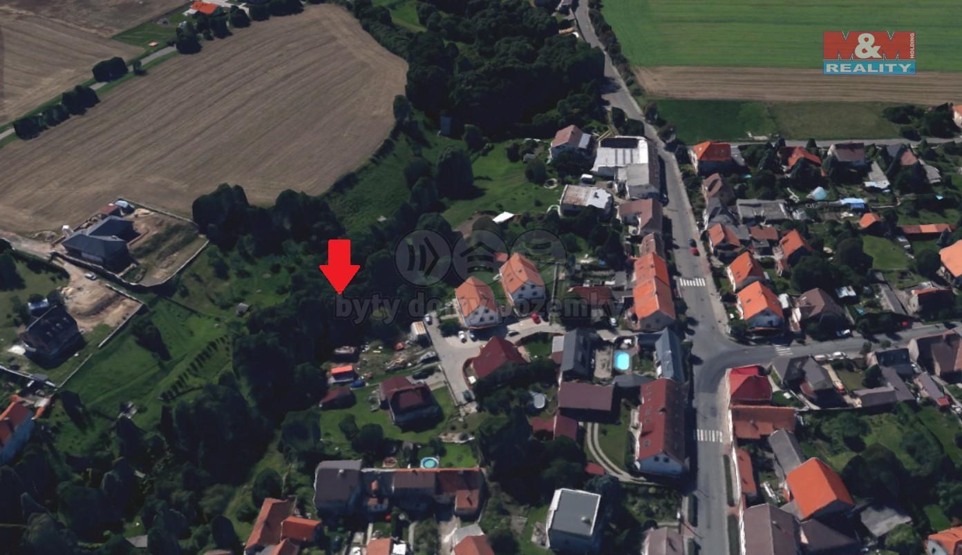Prodej zahrady, 1239 m², Zápy