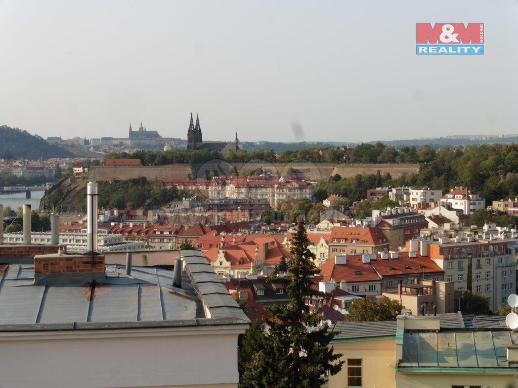 Pronájem, byt 1+1, 50 m2, Praha 4 - Podolí, ul. Na Lysině