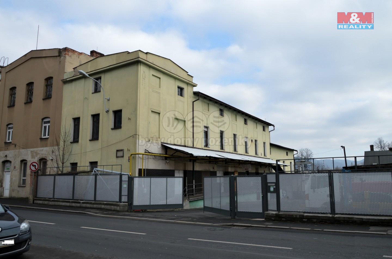Prodej výrobního objektu, 1248 m², Děčín, ul. Dělnická