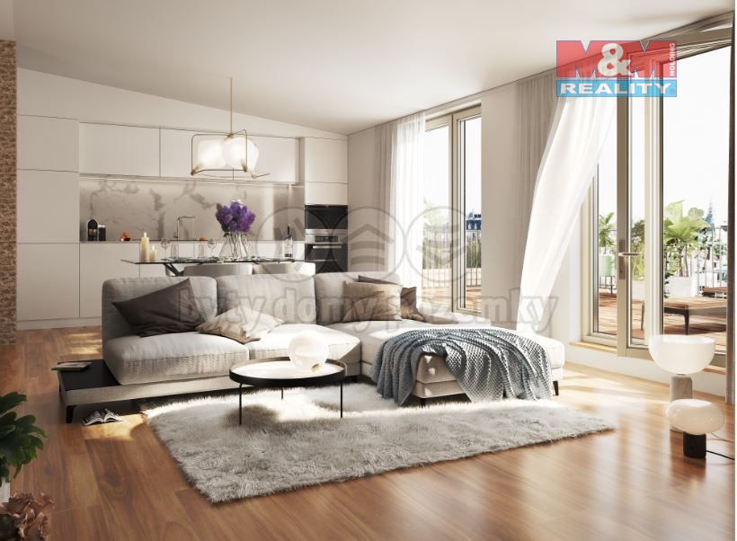 Prodej bytu 4+kk, 96 m², Praha - Vinohrady