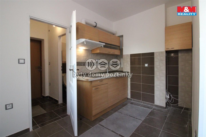 Pronájem, byt 1+1, 22 m², Tetčice