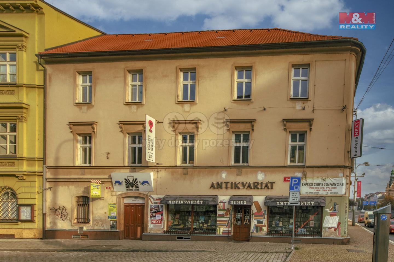 Pronájem, kancelářské prostory, Plzeň, ul. Divadelní