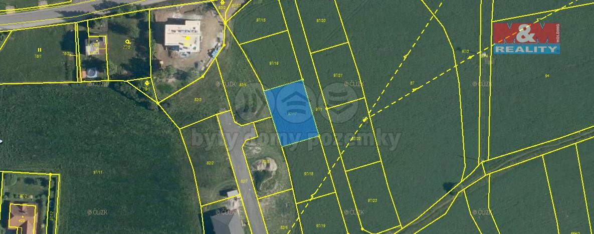 Prodej pozemku k bydlení, 643 m², Břasy