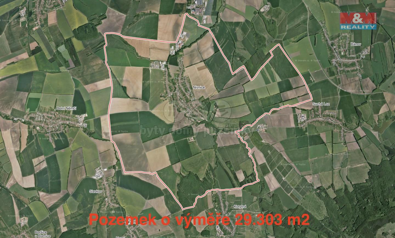 Prodej, pole, 29303 m2, Nivnice
