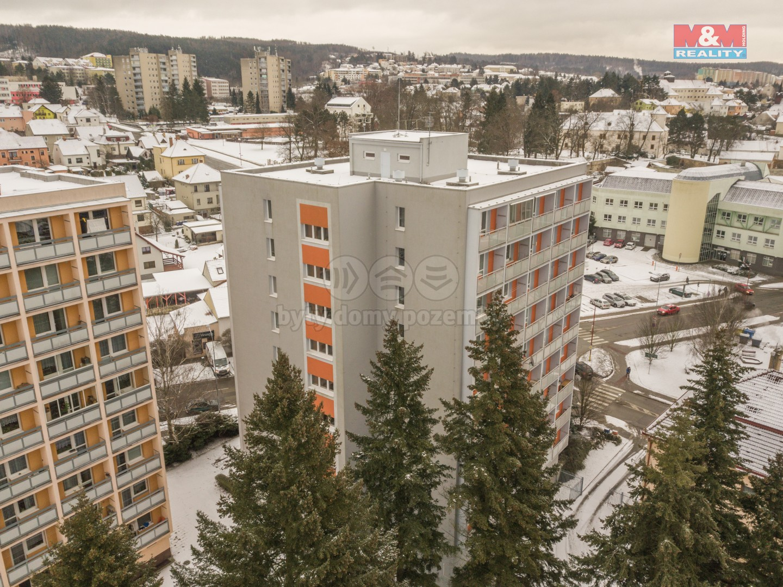 Prodej bytu 1+1, 32 m², Blansko, ul. Bezručova