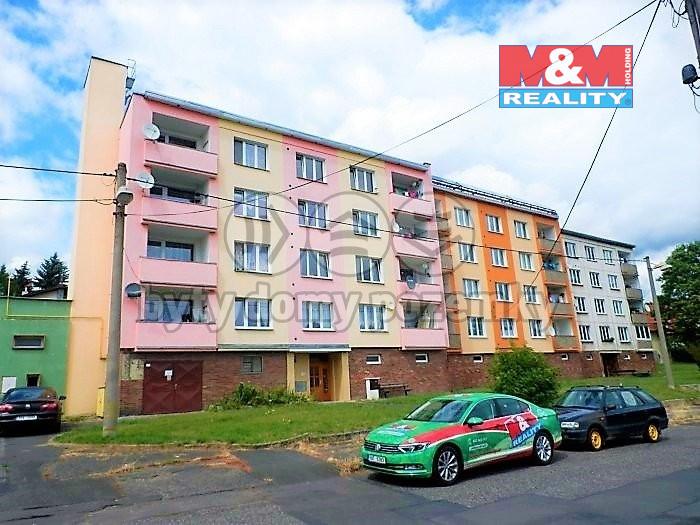 Pronájem bytu 1+1, 34 m², Cheb, ul. Boženy Němcové