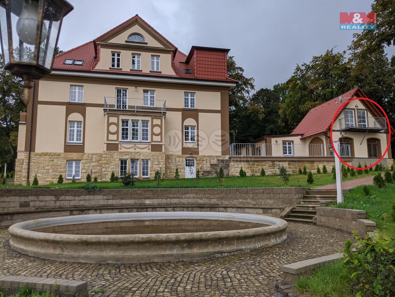 Pronájem bytu 2+1, 44 m², Velký Šenov, ul. Mikulášovická