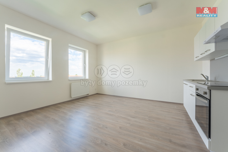 Pronájem bytu 1+kk, 28 m², Horoměřice, ul. Nebušická