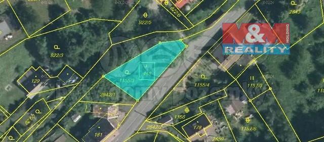 Prodej pozemku k bydlení, 454 m², Valkeřice