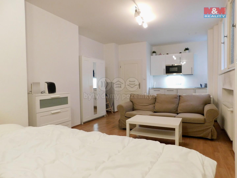 Pronájem bytu 1+kk, 30 m², Praha, ul. Vladislavova