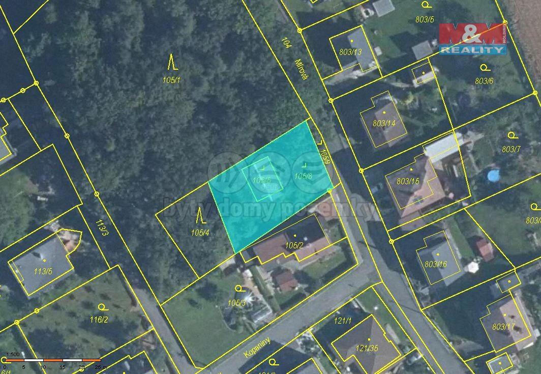 Prodej pozemku, 580 m², Chuchelná