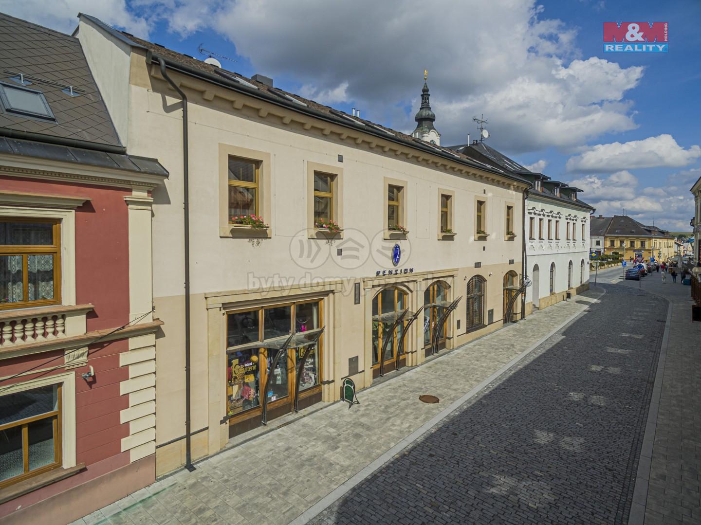 Prodej hotelu, penzionu, 391 m², Polička, ul. Riegrova