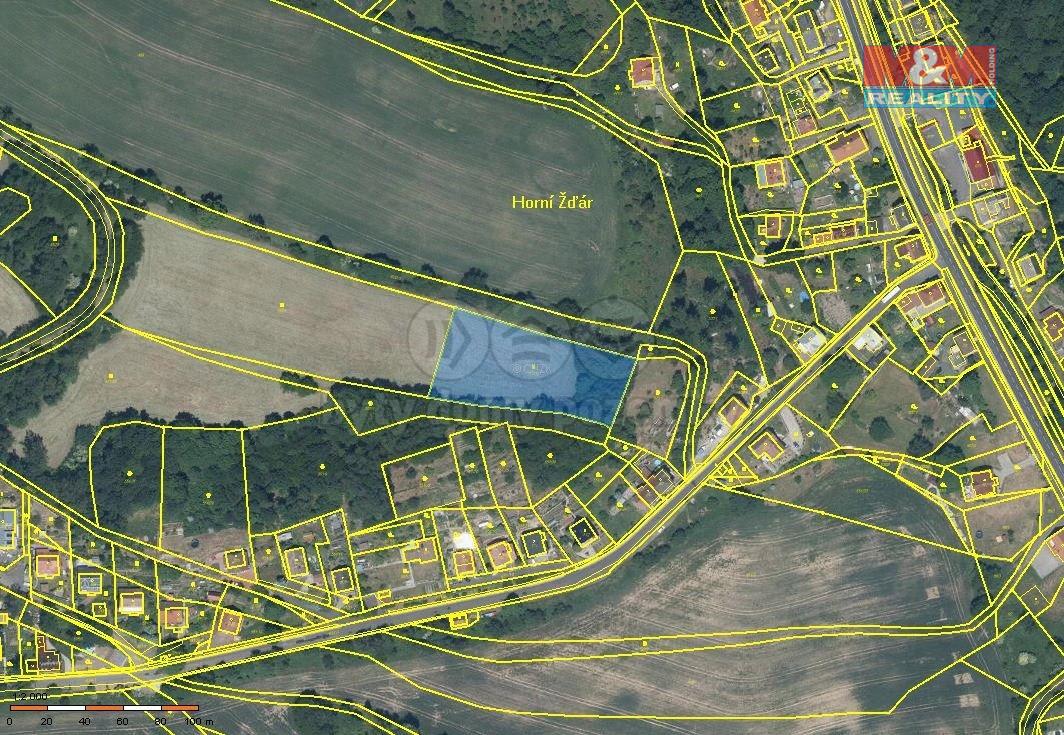 Prodej zahrady, 4185 m², Ostrov - Horní Žďár