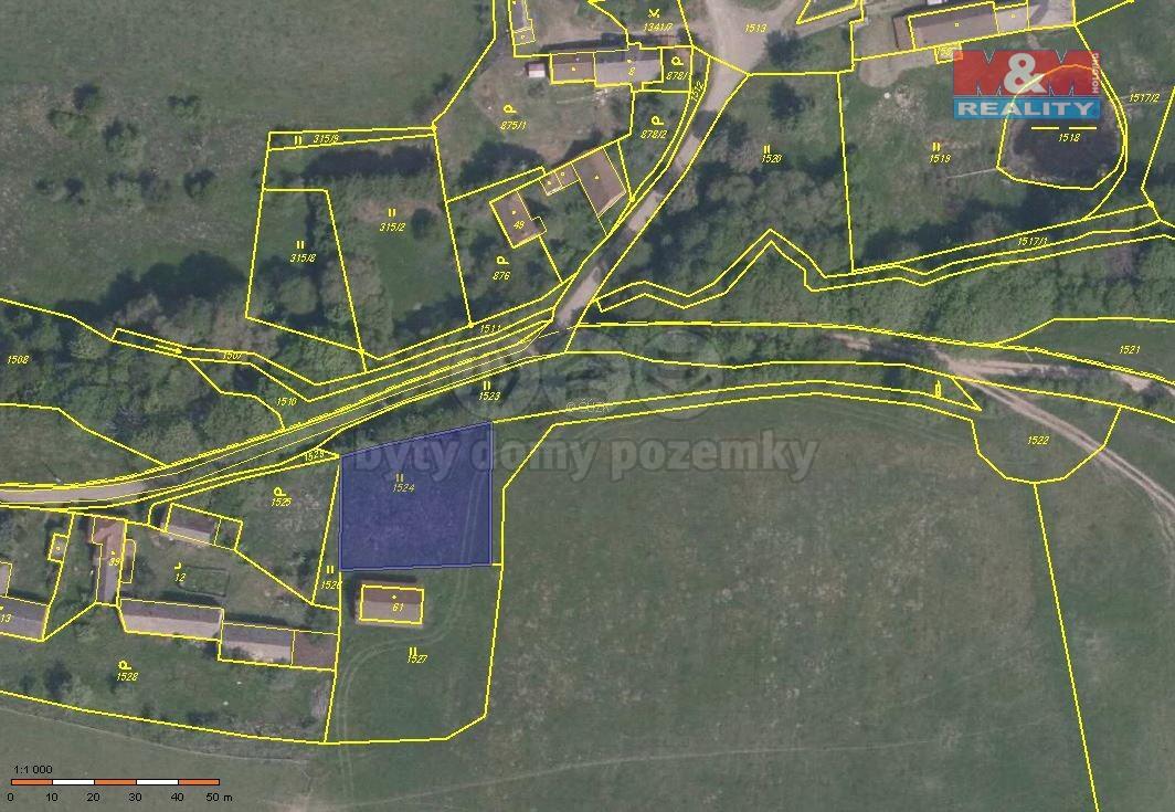 Prodej pozemku k bydlení, 1102 m², Konstantinovy Lázně