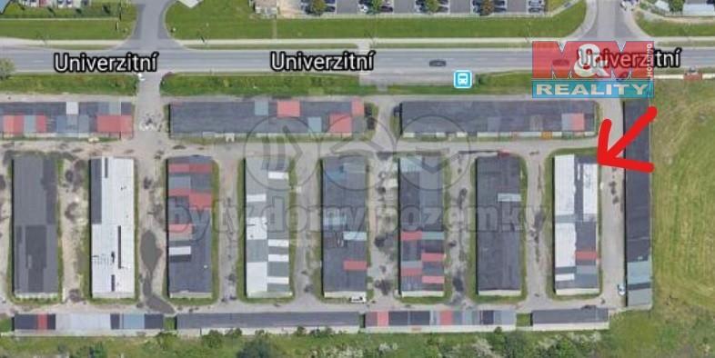 Prodej, garáž, 18 m², Plzeň, ul. Univerzitní