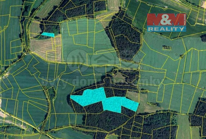 Prodej lesa, 21886 m², Úlehle
