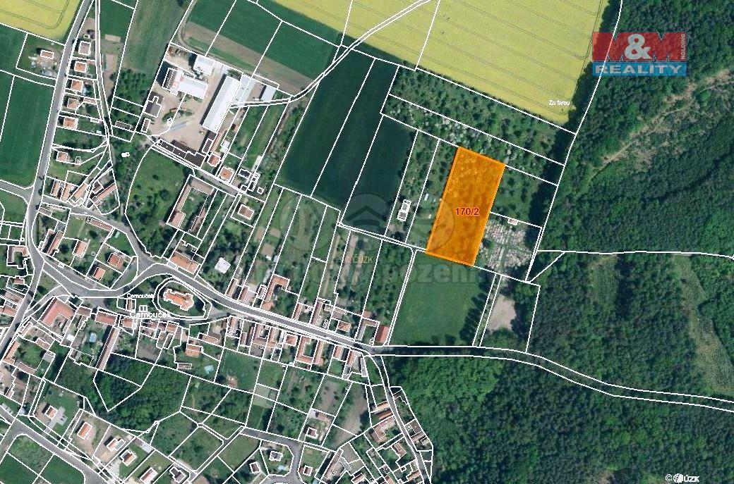 Prodej ovocného sadu, 3009 m², Černouček