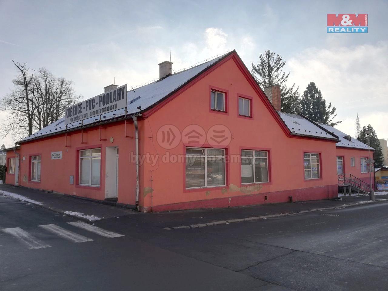 Prodej obchodního objektu, 2648 m², Bruntál, ul. Ruská