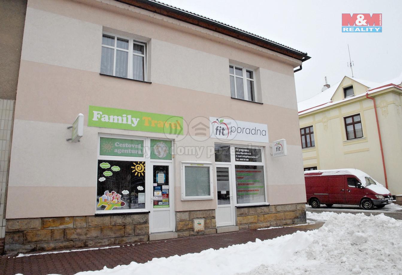 Pronájem nebytových prostor, 581 m², Jičín, ul. Podhradská