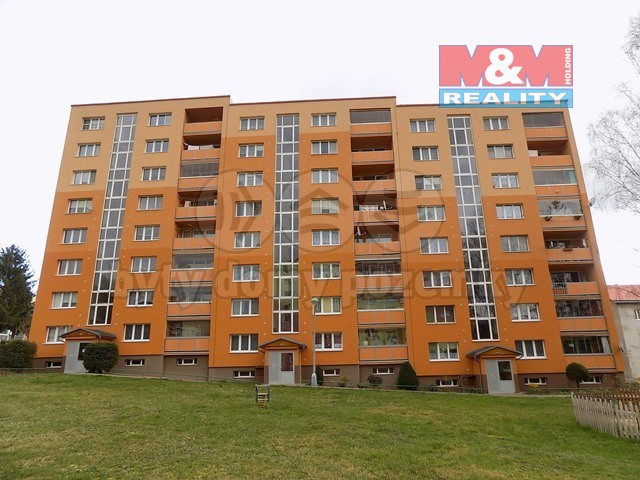 Pronájem bytu 1+1, 40 m²,Benešov nad Ploučnicí, ul. Sídliště