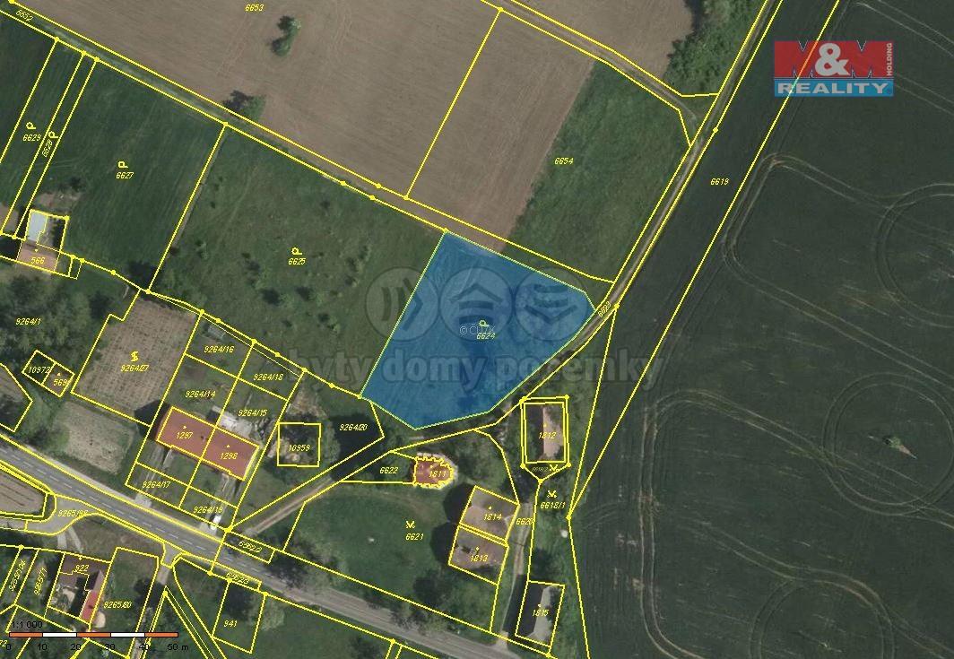 Prodej pozemku, 2280 m², Dyjákovice