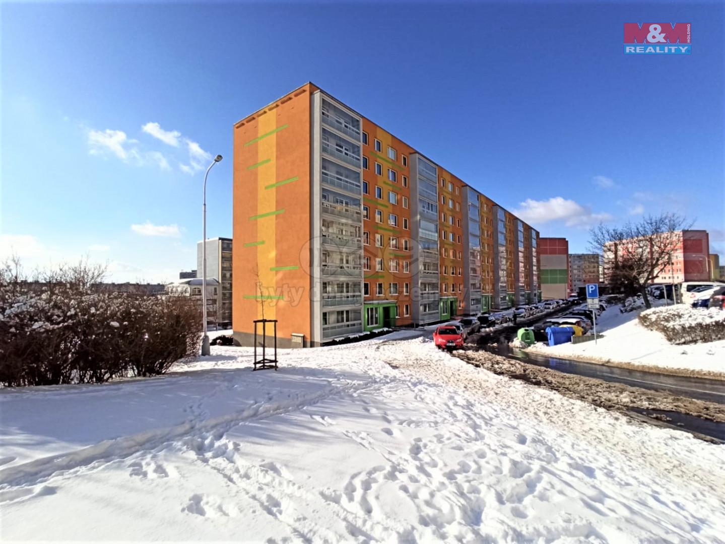 Prodej bytu 2+kk, 40 m², Most, ul. Františka Malíka