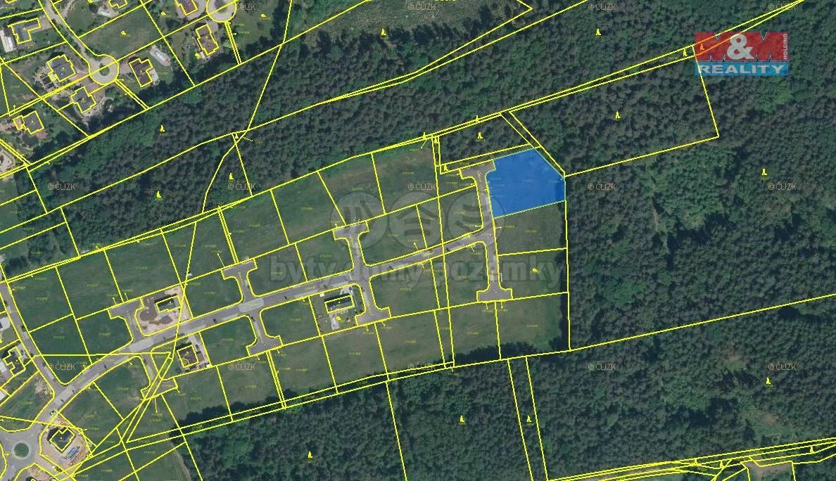 Prodej pozemku k bydlení, 2188 m², Letkov, ul. Šeříková