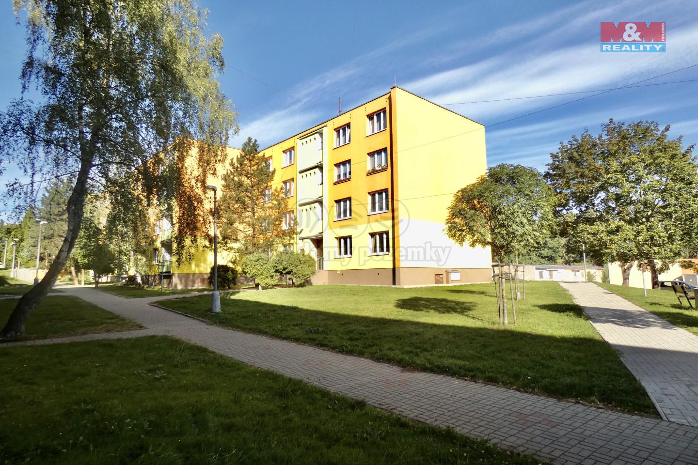 Prodej, byt 1+1, 33 m², Postoloprty, ul. Jiráskovo náměstí
