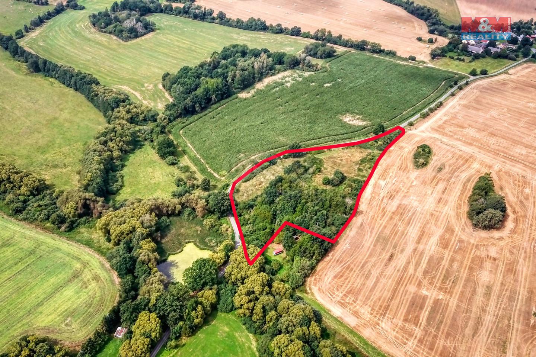 Prodej pozemku k bydlení, 8994 m², Mutěnín