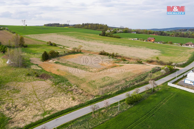 Prodej, plocha výroba a skladování zeměděl. 9393 m², Tymákov