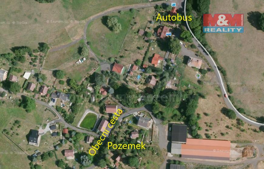 Prodej pozemku k bydlení v Šemnici, 752 m2, Karlovy Vary