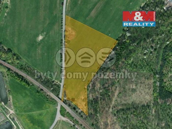 Prodej, pozemek pro výrobní objekt, 26584 m², Chabařovice