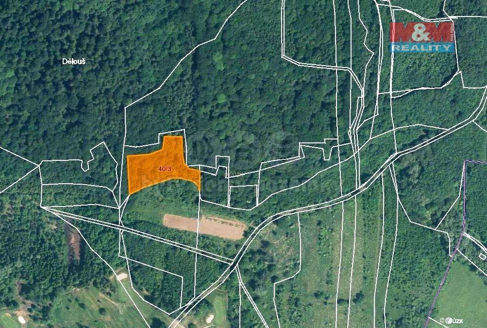 Prodej louky, 5352 m², Ústí nad Labem