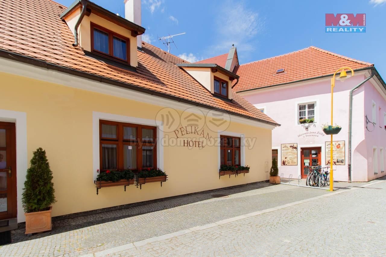 Prodej hotelu, penzionu, 379 m², Třeboň, ul. Rožmberská