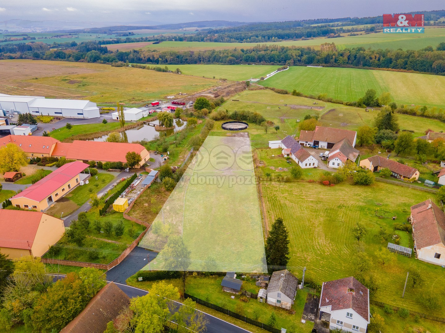 Prodej pastviny, 4389 m², Hradišťský Újezd-Blovice