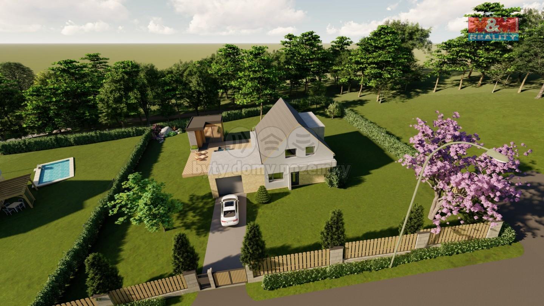 Prodej rodinného domu, 120 m², Lanžov, pozemek 1000m2