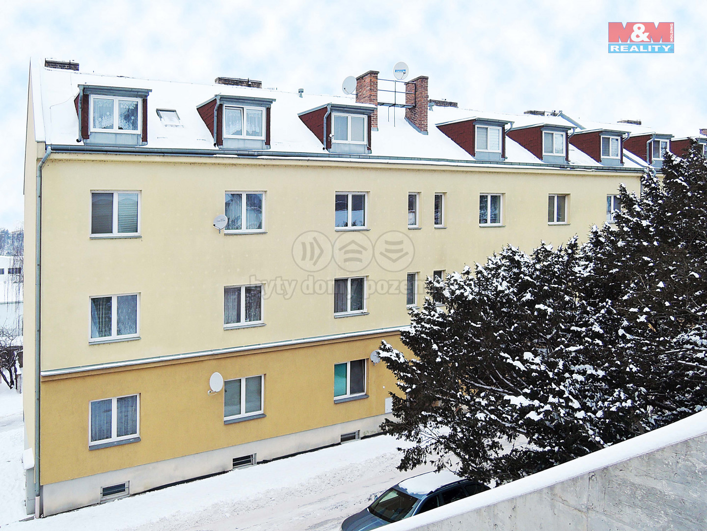 Pronájem bytu 1+1, 32 m², Mladá Boleslav, ul. Pod Borkem