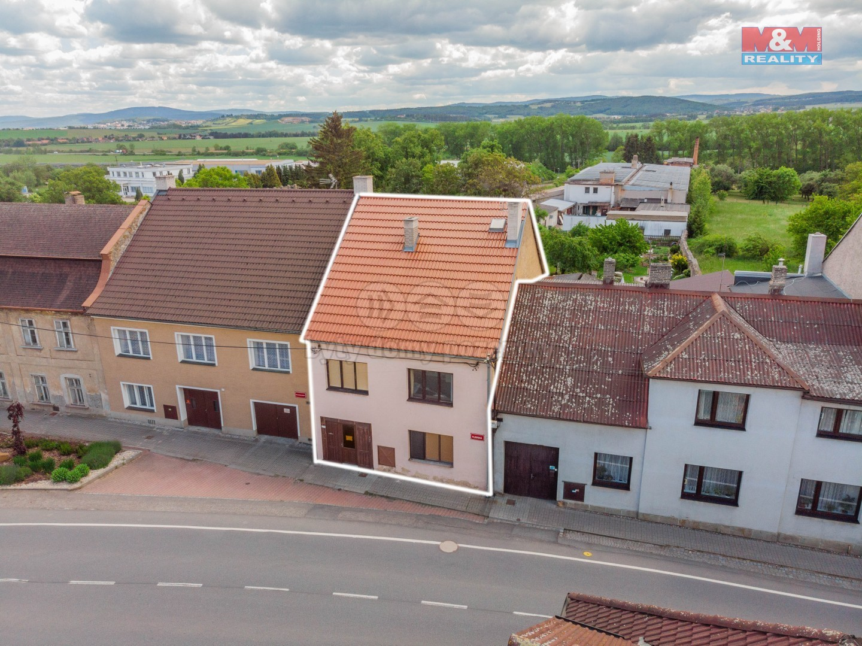 Prodej, rodinný dům, 823 m2, Cerhovice, ul. Plzeňská