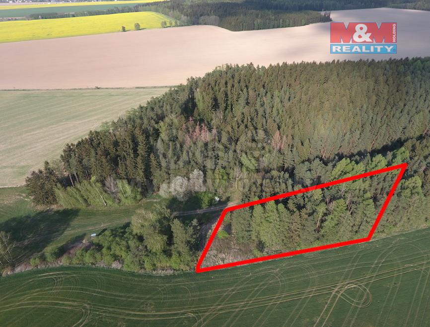 Směna lesního pozemku, 5790 m2, Čistá u Litomyšle