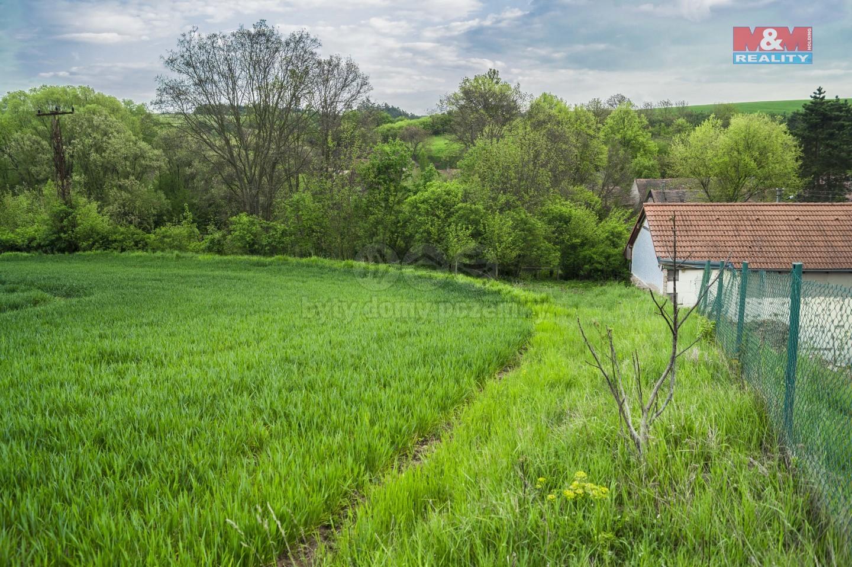 Prodej stavebního pozemku, 7276 m², Mrzky