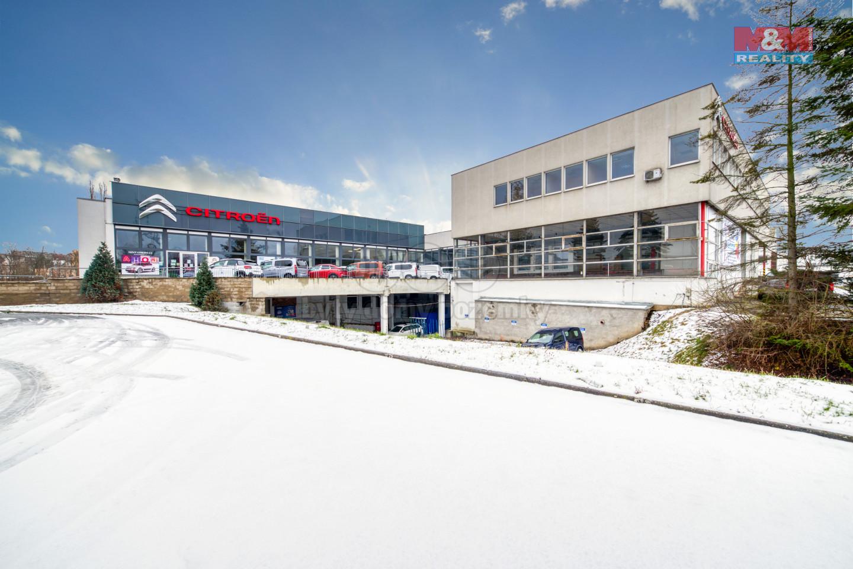 Pronájem, kancelářský prostor, 550 m², Plzeň, ul. Jateční