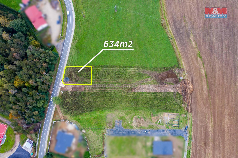 Prodej pozemku k bydlení, 634 m², Břasy