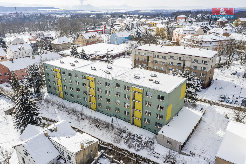 Prodej bytu 3+1, 68 m², OV, Dubí, ul. Sídliště Družba