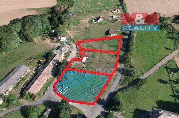 Prodej pozemku k bydlení, 1600 m², Mochtín
